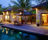 Private family pool villas
