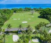 Island golf course