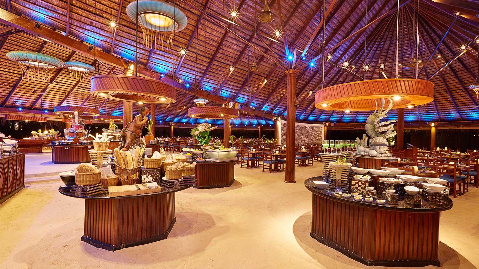 introducing amazing kuredu 39 s buffet restaurants. Black Bedroom Furniture Sets. Home Design Ideas