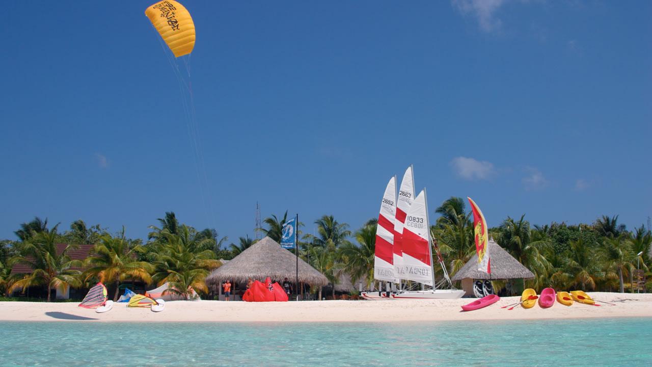 Kuredu Island Resort i Maldivene