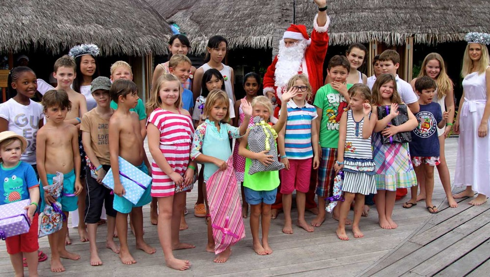 Christmas Kuredu Maldives