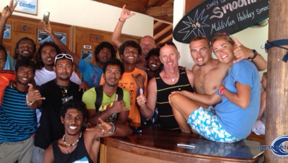 Maldives resorts water sport