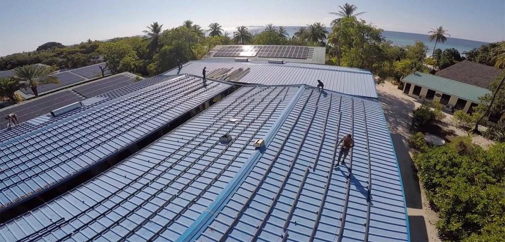 Maldives Solar Power Kuredu