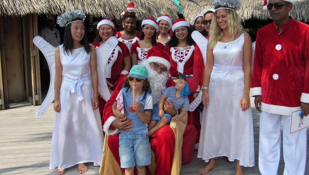 Kuredu Christmas Holidays Santa