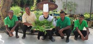 Herb Garden - Kuredu Resort