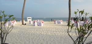 Valentine's Dinner The Beach Kuredu