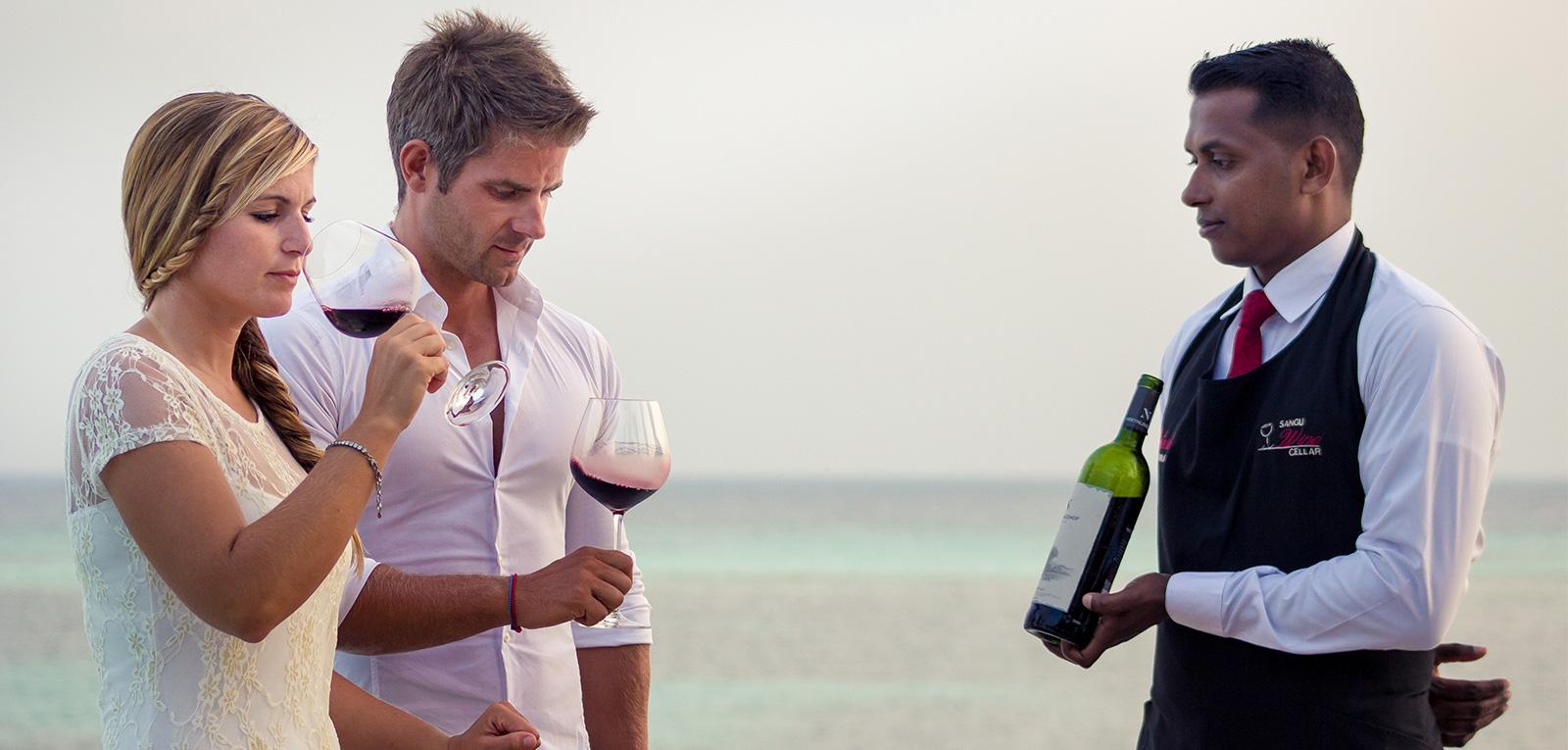 kuredu wine tasting