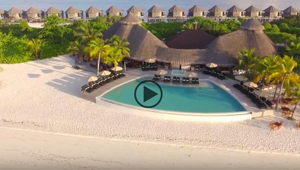 kuredu maldives drone
