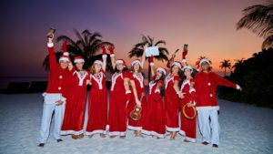 Kuredu Maldives Christmas