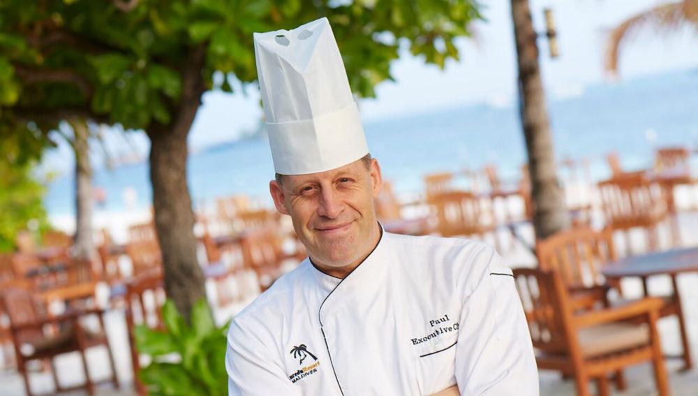 Paul King Executive Chef Kuredu Maldives