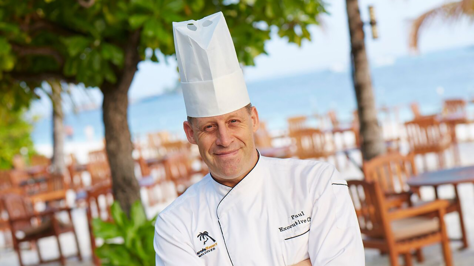 Paul King Executive Chef Kuredu Maldives