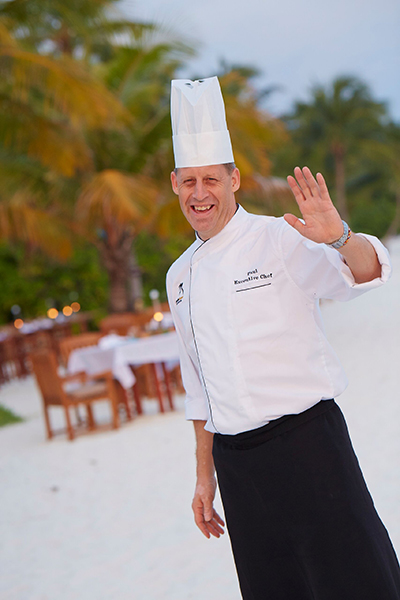 Executive Chef Paul Kuredu
