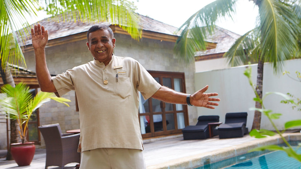 2016 Employee of the Year: Hassan Adam, Room Attendant