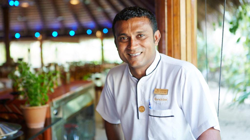 2016 Supervisor of the Year: Ibrahim Abdulla, Head Waiter