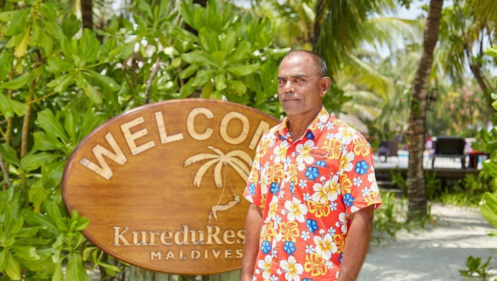 Kuredu Maldives Celebrities: Wahhab