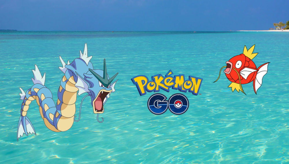Pokemon Go at Kuredu Maldives Resort