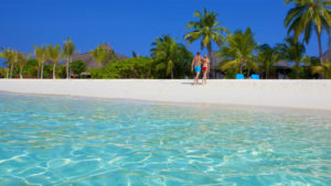 Kuredu Maldives beach villa