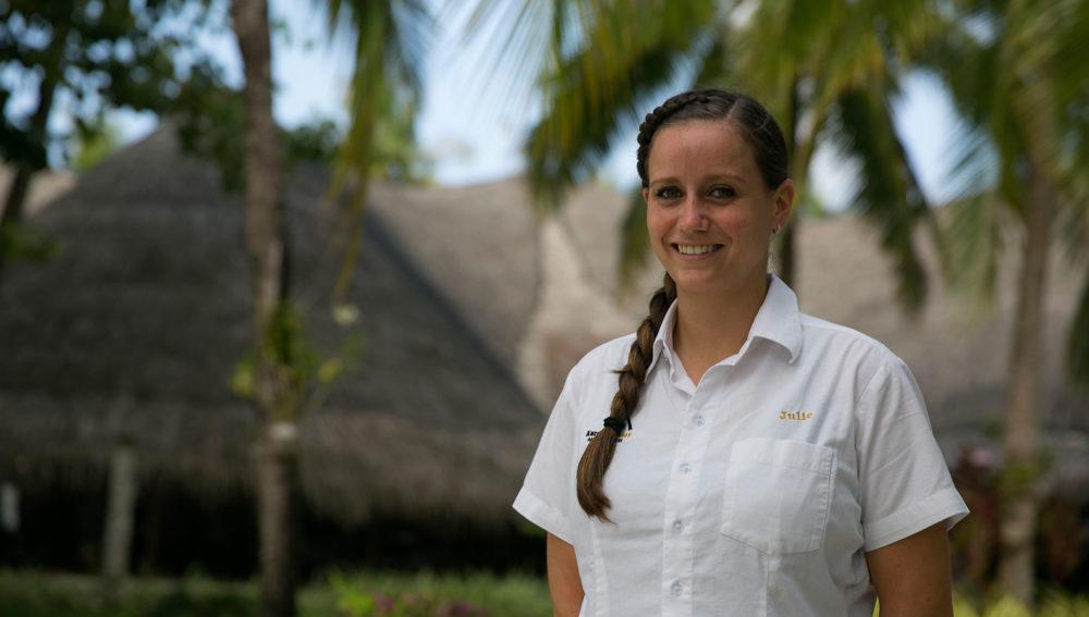Julia Guest Services Manager Kuredu Maldives