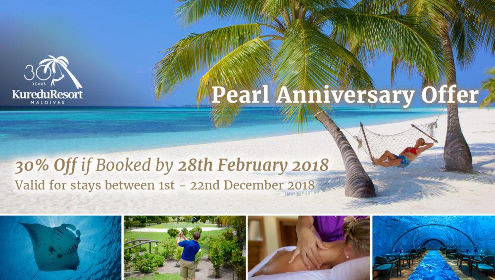Kuredu Maldives Anniversary 2018