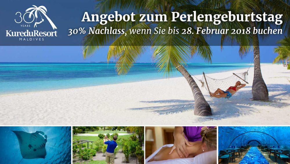 Kuredu Resort Maldives Angebot