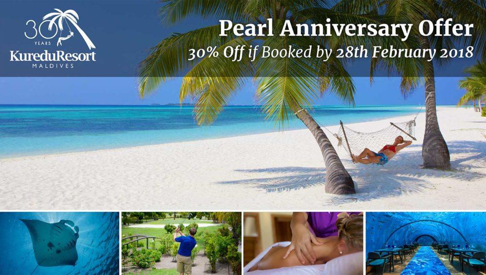 Kuredu Resort Maldives Anniversary Offer