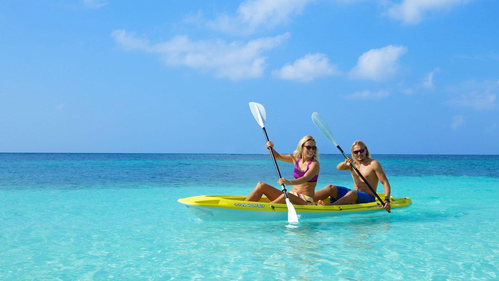 Canoe Kuredu Maldives