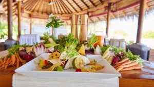 Veg Beach Shack Restaurant Kuredu Resort Maldives