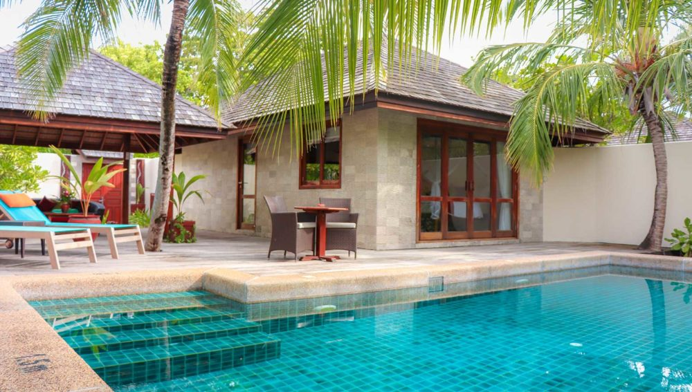 Private Pool Villa Kuredu Resort Maldives