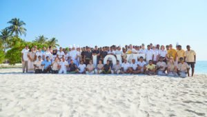 Group photo Kuredu Maldives