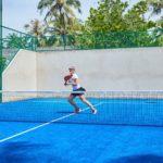 padel tennis Kuredu Maldives