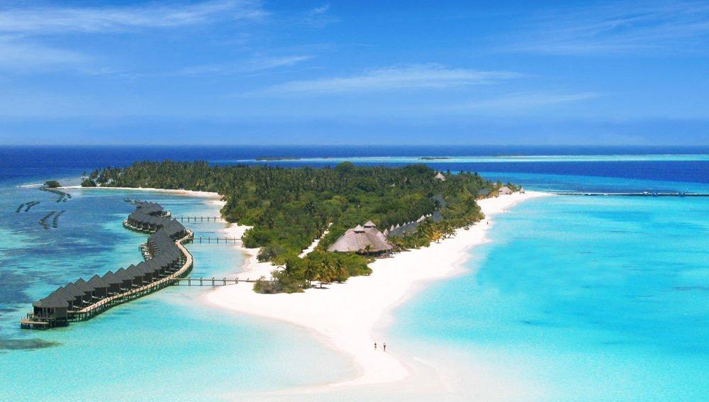 Kuredu Resort Maldives aerial