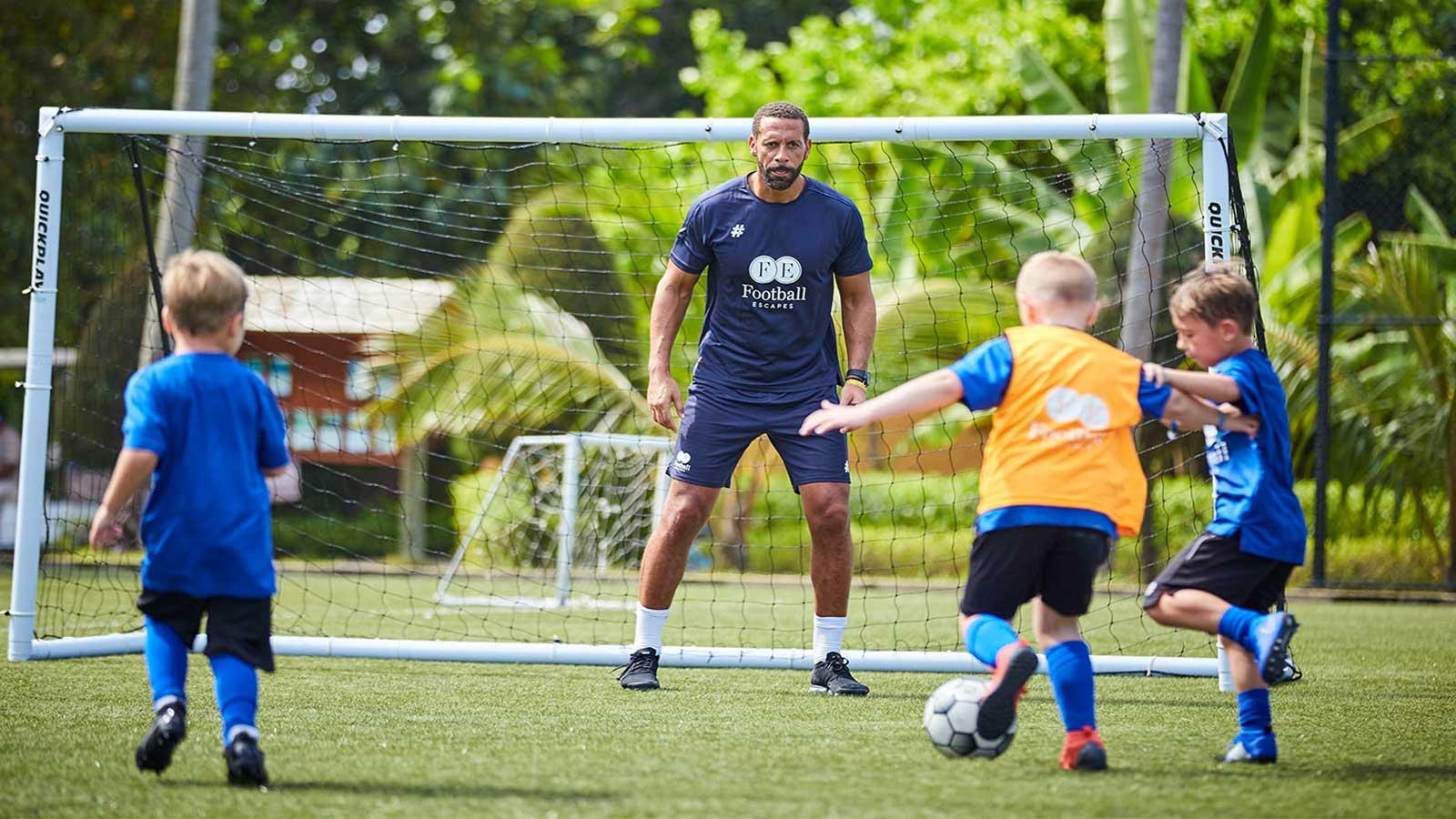 Rio Ferdinand Kuredu Maldives