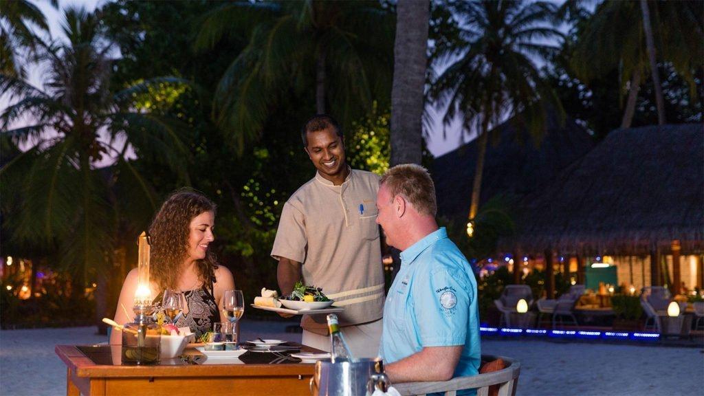 Beach Shack Restaurant Kuredu Maldives