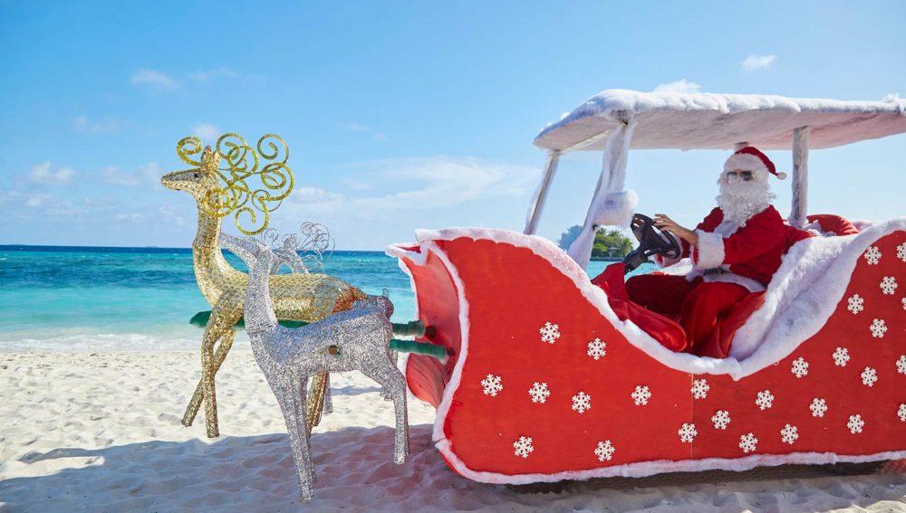 Christmas at Kuredu Maldives